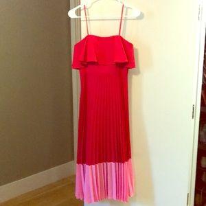 Aidan by Aidan Mattox. Color Block dress